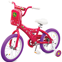 Jd 16in Bicycle Pink