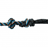 Hltr Rope W/10ft Lead Bla/tur