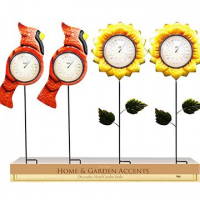 Flower Or Bird Thermometer
