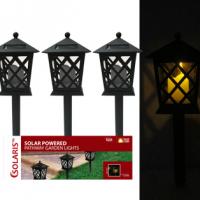 Solar Lantern Garden Stakes