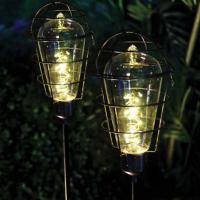 Solar Edison Light Bulb Stake