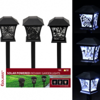 Solar Lantern Pathway Stake - Assorted