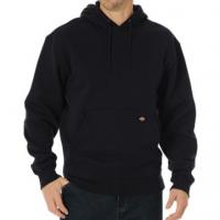 Men's Midweight Fleece Pullover Hoodie (Black, Medium Regular)