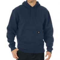 Men's Midweight Fleece Pullover Hoodie (Dark Navy, Medium Regular)