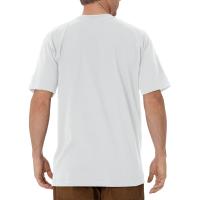 Men's Short Sleeve Heavyweight Crew Neck Tee (Ash Gray, Medium)