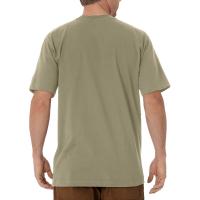 Men's Short Sleeve Heavyweight Crew Neck Tee (Desert Sand, Medium)