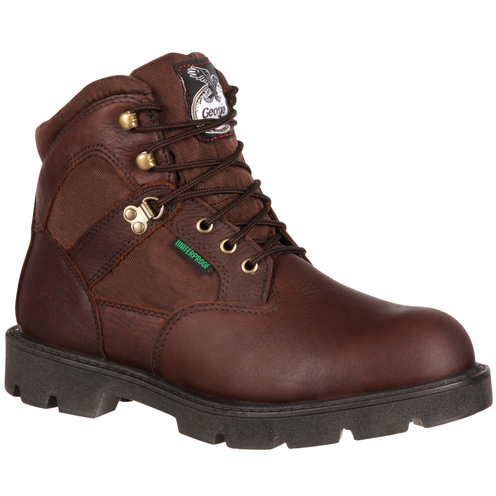 Georgia Men's Homeland Waterproof Work Boot G106