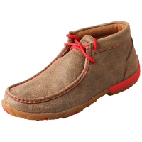 Twisted X Women's Driving Moccasin - Bomber & Red