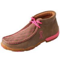 Twisted X Women's Driving Moccasin - Bomber & Pink