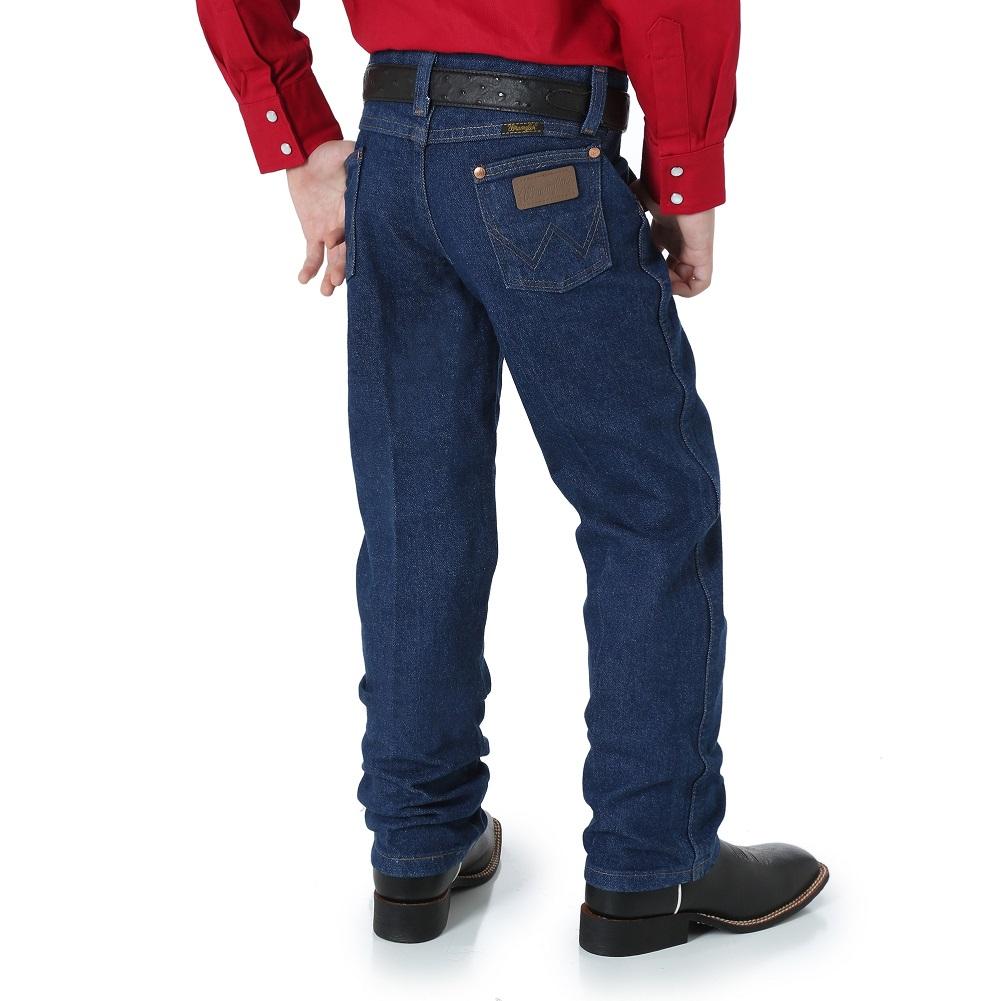 Wrangler Cowboy Cut® Original Fit Boys' 8-18 13MWZBP