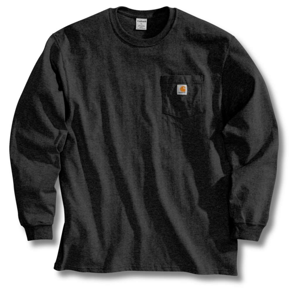 Workwear Pocket Long-Sleeve T-Shirt K126BLK