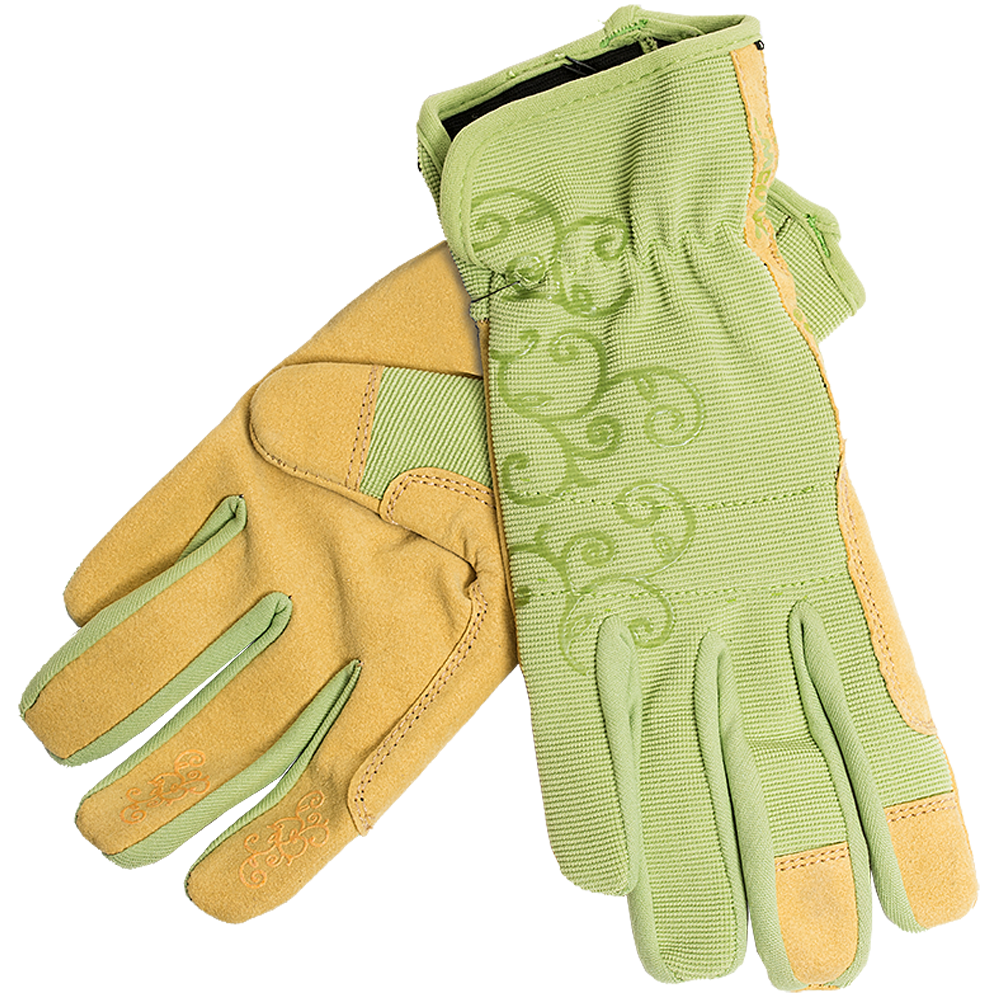 Kinco Pro Women's Green Synthetic Leather Gloves