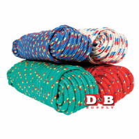 Poly Rope 1/2x50ft Braided