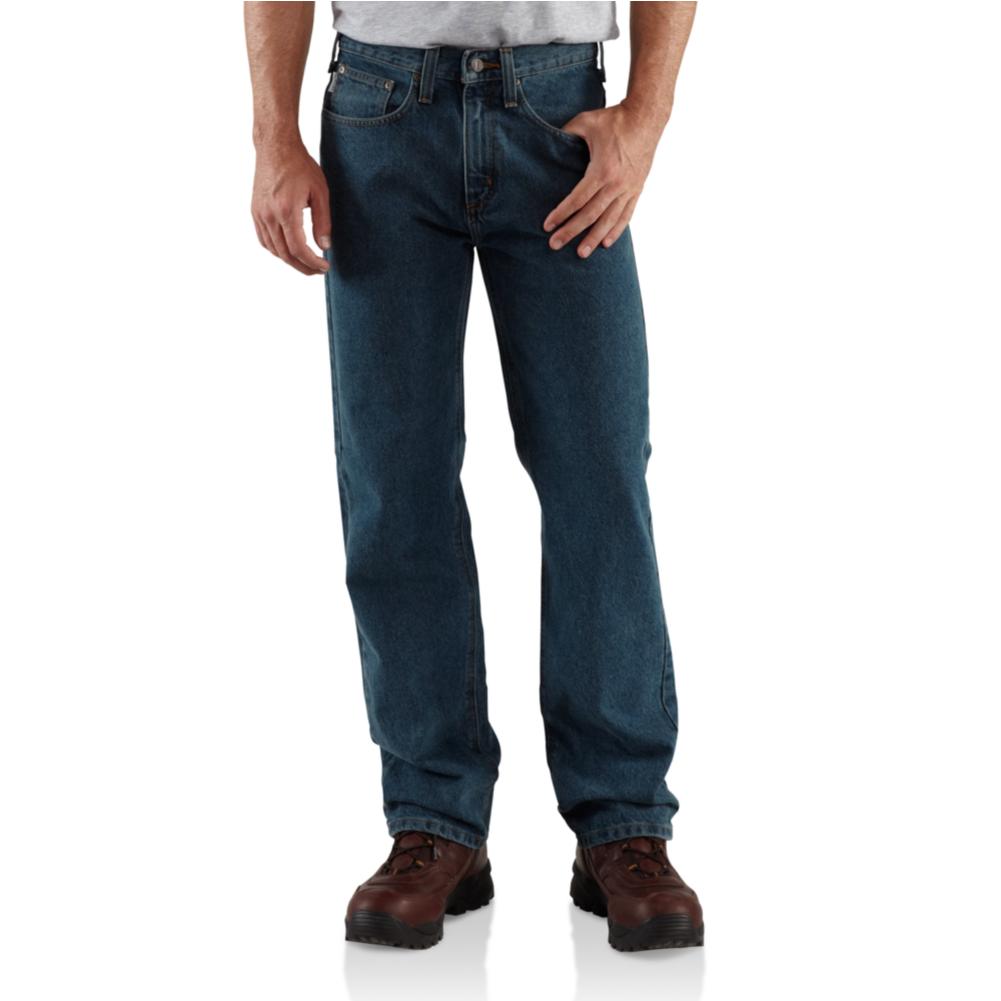 Carhartt Relaxed Fit Straight Leg Jean B460DVB