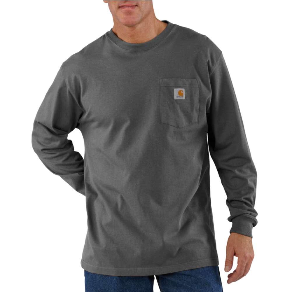 Workwear Pocket Long-Sleeve T-Shirt K126CHR