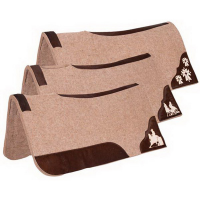 Wool Cont Pad 32x32 Tan Assorted