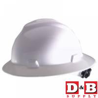 Hard Hat White Full Brim     5
