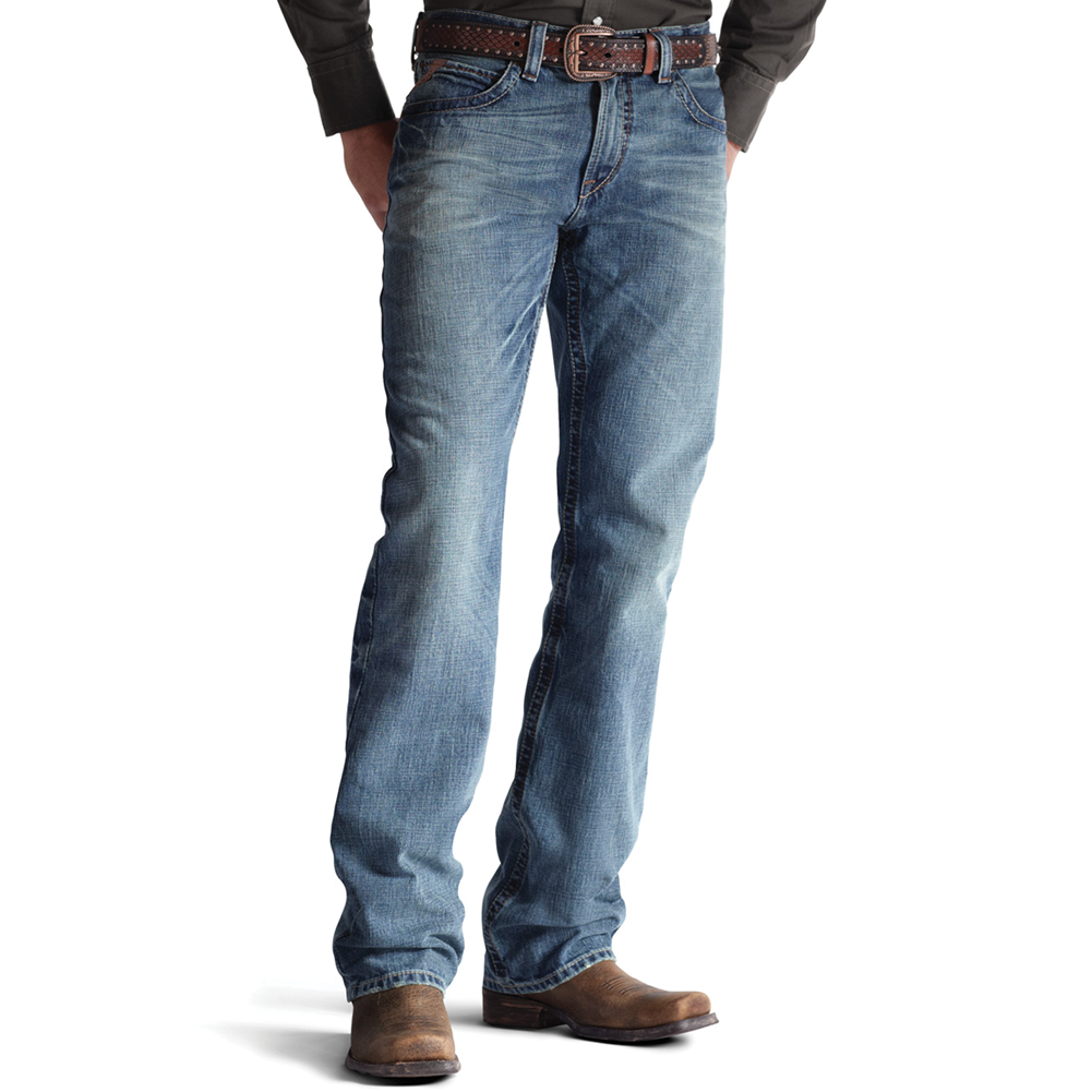 Ariat Men's M4 Low Rise Scoundrel Jeans
