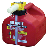 1.25 Gallon No Spill Gas Can