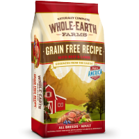 Merrick Whole Earth Farms Grain Free Beef and Lamb Recipe dry dog food 25lb