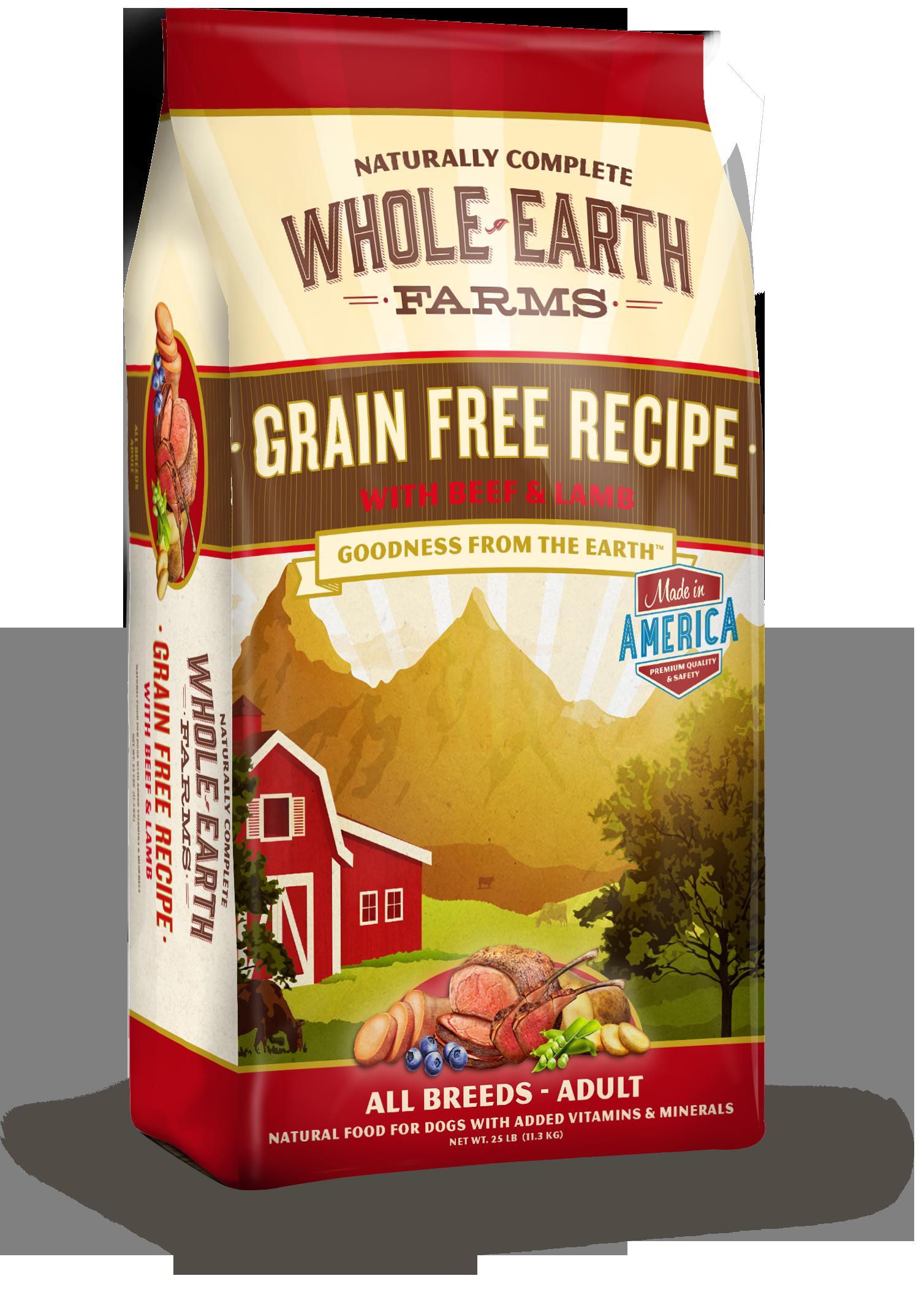 Whole Earth Dog Food Cheep
