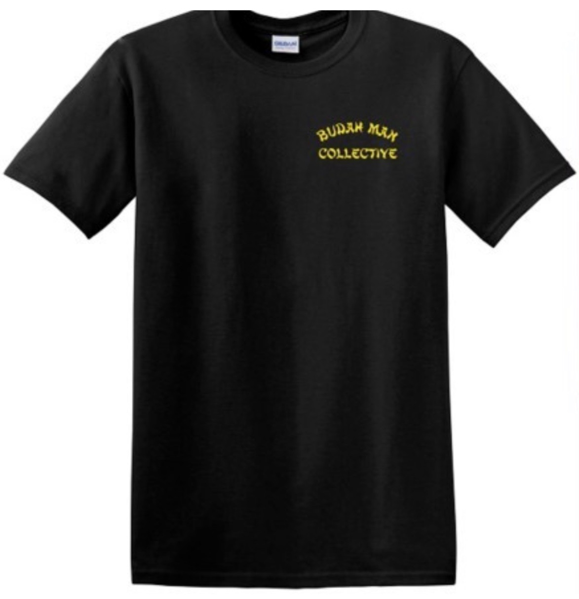 BLACK TEE SHIRT  - BLACK MENS TEE  Product Image