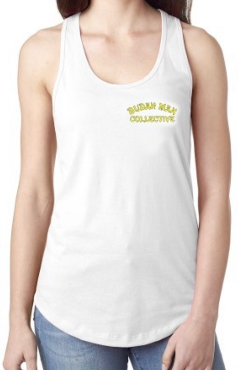 WOMENS TANK  - WOMENS WHITE TANK  Product Image