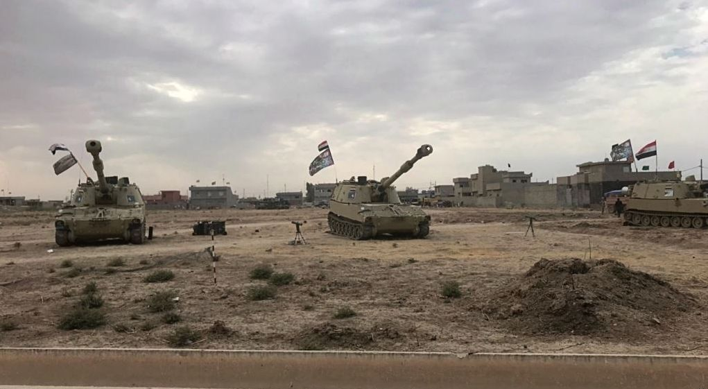 Iran-backed Iraqi ultimatum to Kurds to leave Kirkuk. First test for Trump's threat to Rev Guards