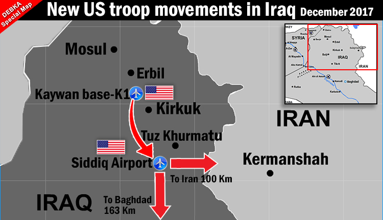 New US military moves in the Mid-East & Israel's Syria air ...