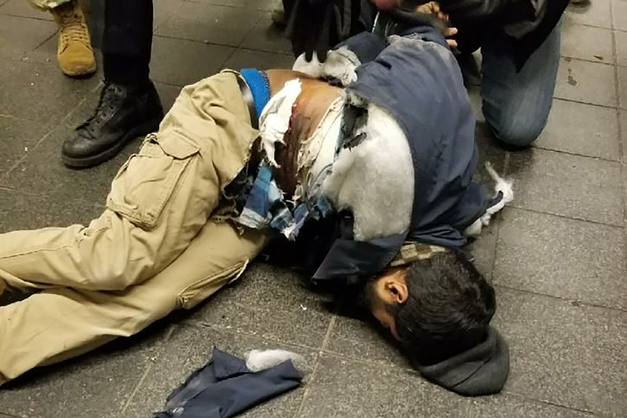 An explosion near Times Square, New York was a failed ISIS attack