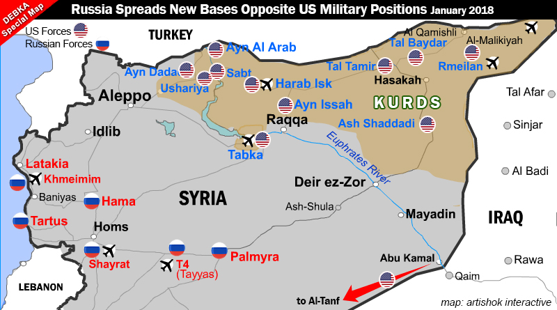 Russia builds four new air bases in Syria deploys another 6000