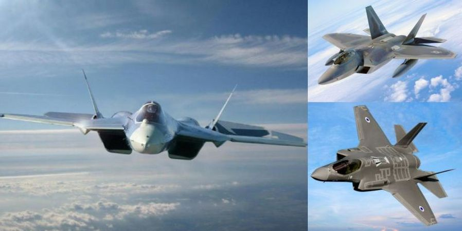 "Russia's ""F-22 Killer"" the SU-57"