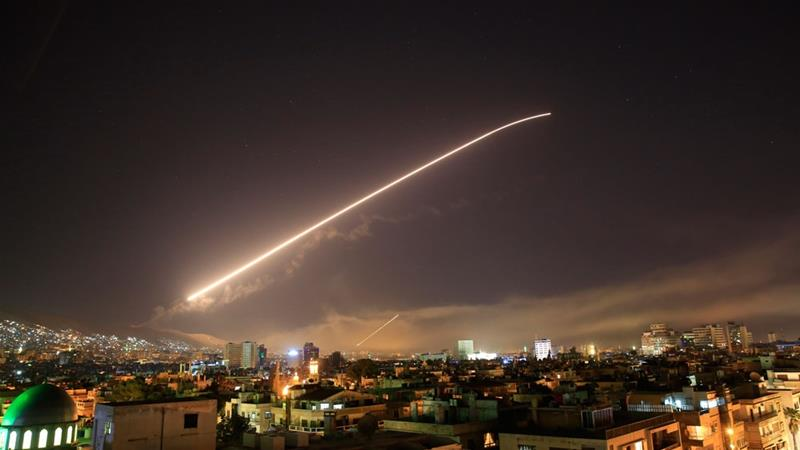 US, France, Britain launch 100 cruise missiles on Syrian chemical weapons sites