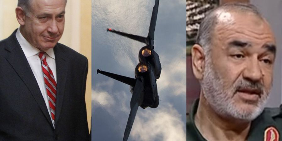 Iranian general: Our hands on the trigger, your airbases within reach. Netanyahu: We are ready