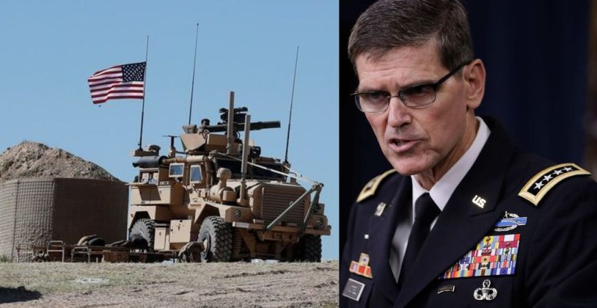 US Gen Votel and Israel sharply divided on Trump's US exit plan from Syria