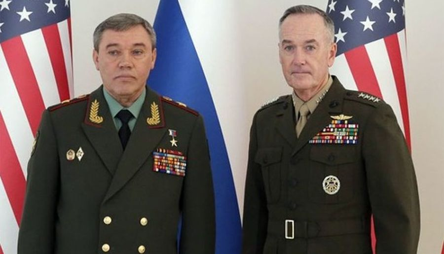 Top US, Russian generals fail to agree on Syrian-Israel, Syrian-Jordanian borders