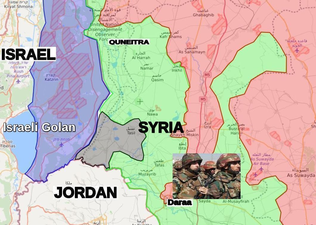 Syria launches comprehensive assault on Daraa. Quneitra ...