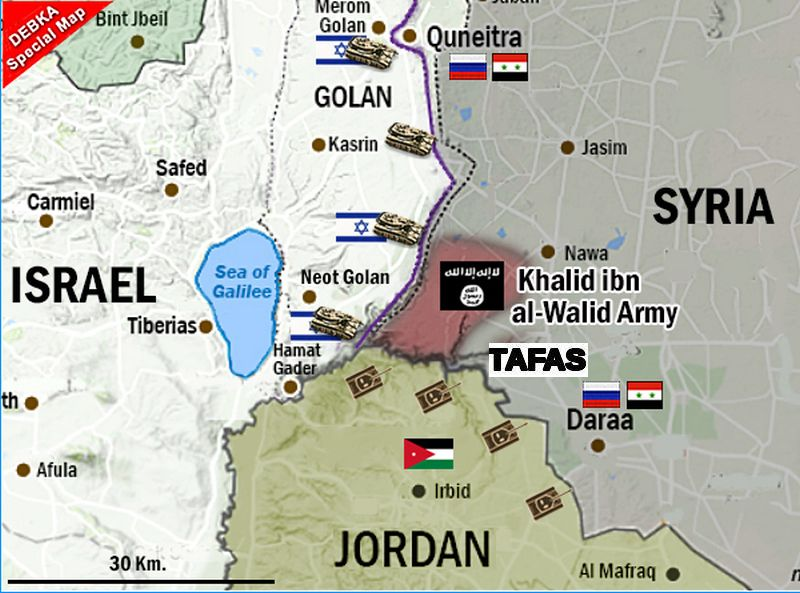 Syrian rebels of Tafas go over to ISIS, spark battles closer ...
