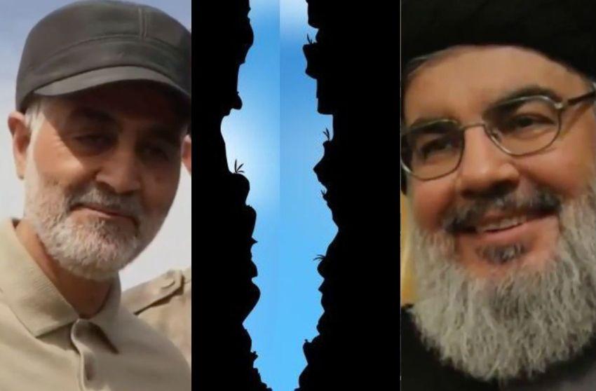 Rupture between Iran's top ally Nasrallah and its top general Soleimani