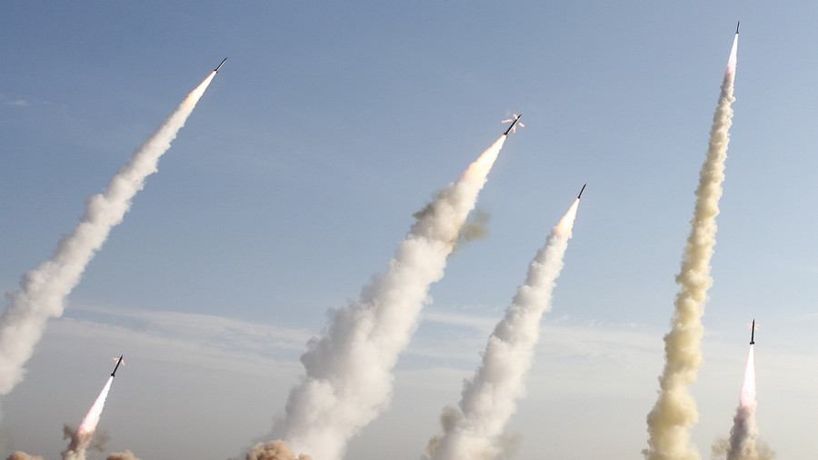 Rev Guards fire 8 missiles from Iran at ISIS in E. Syria