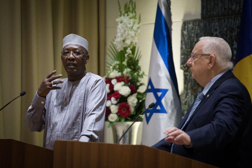 Chad President seeks Israeli intervention in Africa's wars on ISIS, Al Qaeda