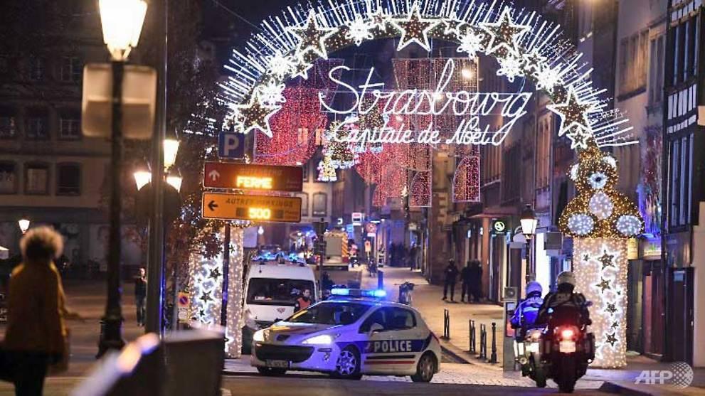 Manhunt for Islamist gunman after 3 dead, 12 injured in Strasbourg