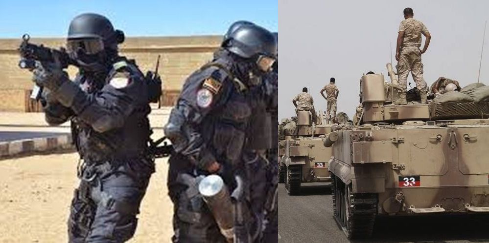 Trump phases Arab forces into Syria vs Iran ahead of US pullout. Egyptian/UAE officers on the scene