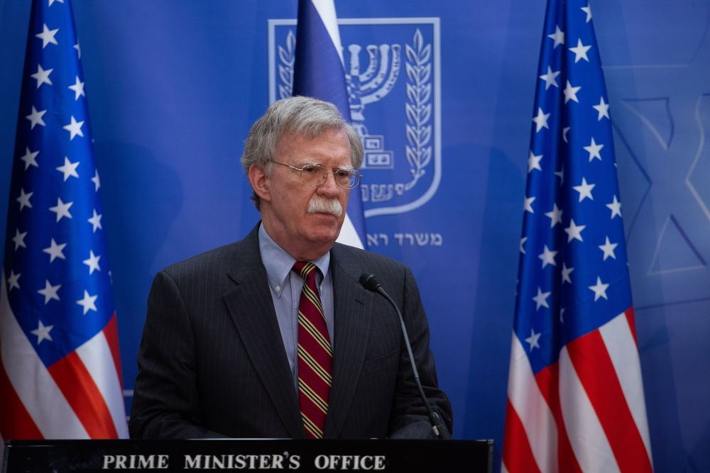 Bolton in Israel for talks on Syria, Iran and Chinese tech investment in Israel