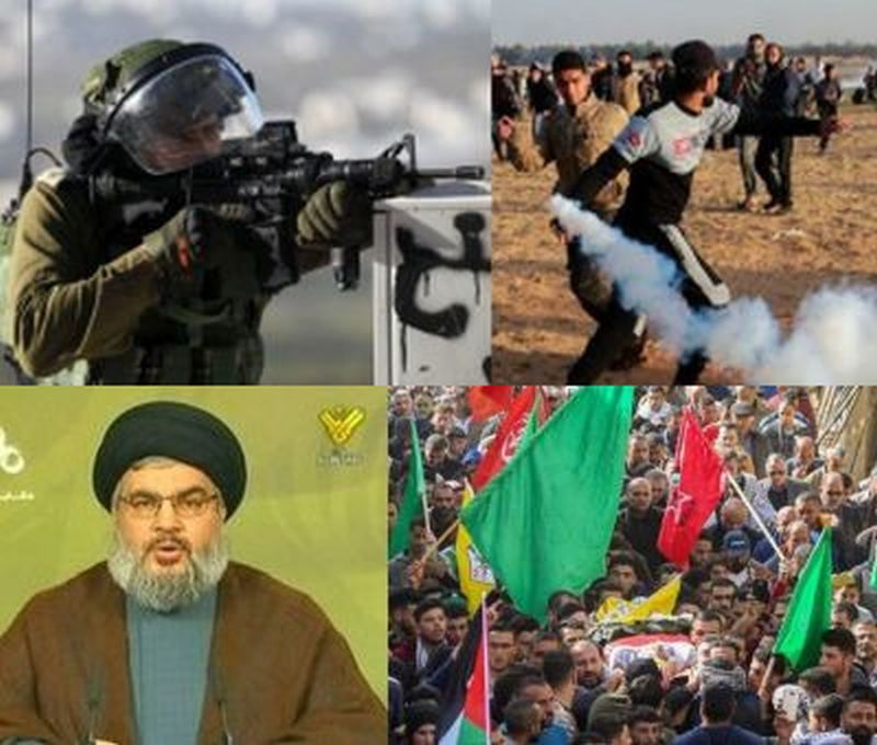 Iran, Hizballah, Hamas use threats of escalation to meddle in Israel's election