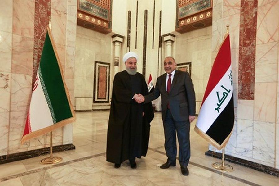 Rouhani is in Baghdad to harness Iraq's banks for beating US anti-Iran oil sanctions