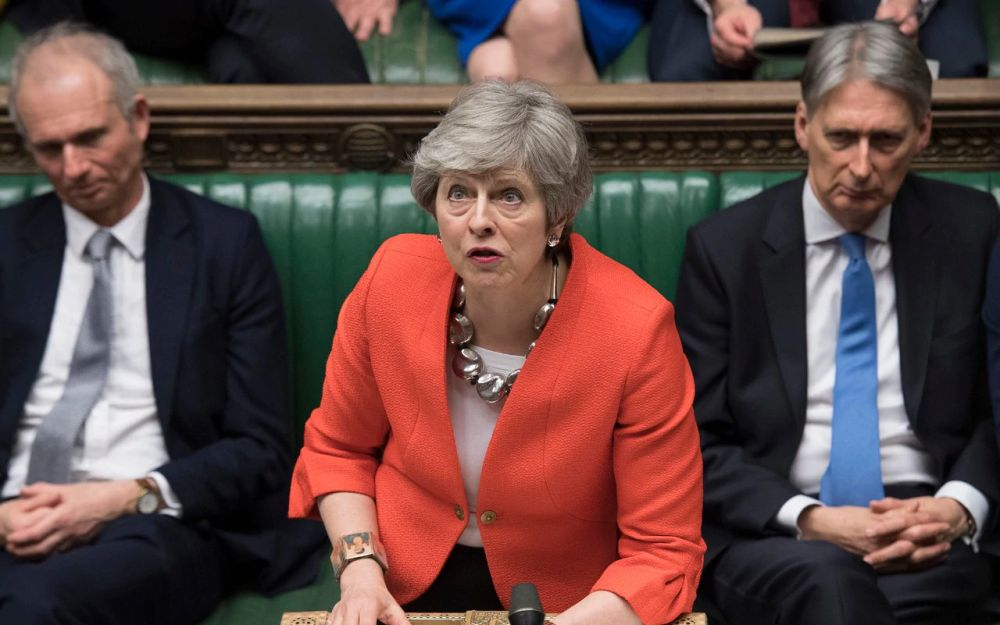 "UK parliament rejects May's ""last chance"" revised Brexit deal"
