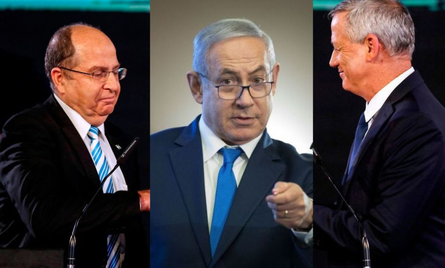 Netanyahu to sue Blue-White leaders for libel over treason charge
