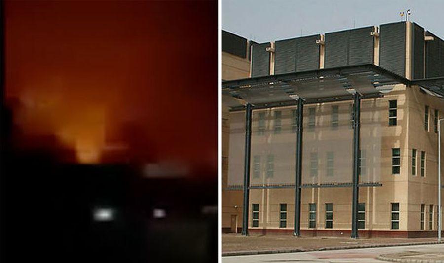 Rocket attack near US Baghdad embassy had Iran's signature