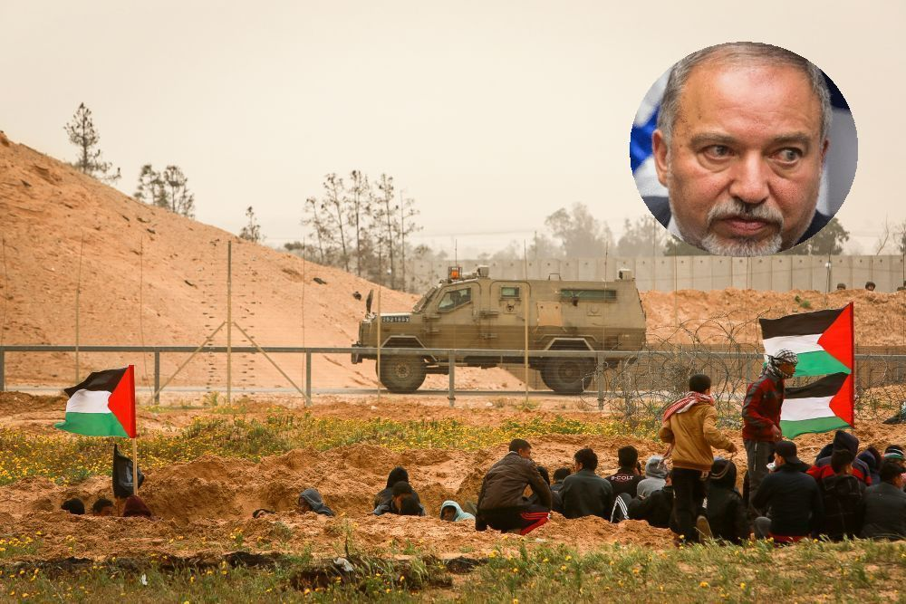 Lieberman returns to defense in next Netanyahu government. IDF will stop firing at Gaza rioters
